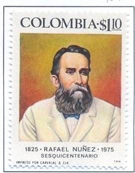 Colnect-2496-419-Rafael-Nu-ntilde-ez-1825-1894-President-of-the-Republic.jpg