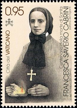 Colnect-4550-593-50th-death-anniversary-of-St-Francesca-Saverio-Cabrini.jpg