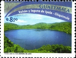 Colnect-2210-189-The-Volcano-and-Lake-of-Ipala.jpg