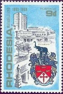 Colnect-1174-190-View-and-coat-of-arms-of-Bulawayo.jpg