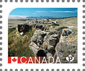 Colnect-3129-703-Head-Smashed-in-Buffalo-jump-Alberta.jpg