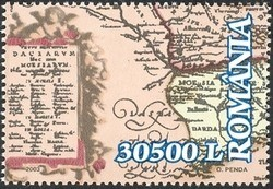 Colnect-758-145-Map-of-Romania-Lower-left-part.jpg