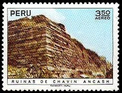 Colnect-1617-395-Archaeological-Monuments--Ruins-of-Chavin-Ancash.jpg