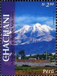 Colnect-1584-542-Volcanoes-of-Arequipa---Chachani.jpg