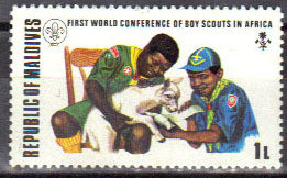 Colnect-844-936-Scouts-treating-injured-lamb.jpg