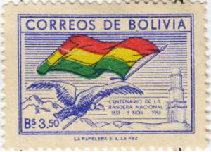 Colnect-850-180-Condor-and-flag-of-Bollivia.jpg