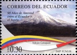 Colnect-980-628-90-Years-of-friendship-between-Japan-and-Ecuador---Cotopaxi.jpg