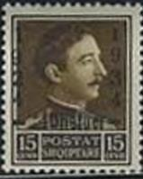 Colnect-1367-407-King-Zog-I-with-Overprint.jpg
