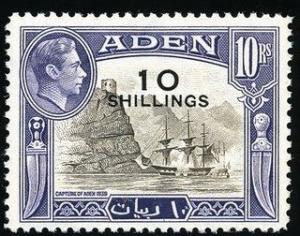 Colnect-559-757-Capture-of-Aden-1839-surcharged-with-new-value.jpg