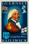 Colnect-125-530-Isaac-Brock-as-Ensign.jpg