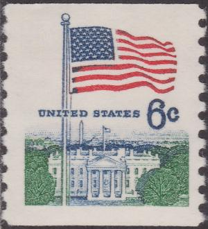 Colnect-1518-245-Flag-and-White-House.jpg