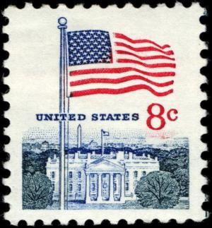 Colnect-3857-545-Flag-and-White-House.jpg