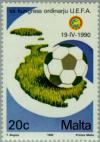 Colnect-131-025-Football-and-Map-of-Malta.jpg