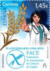 Colnect-6589-409-25th-Anniversary-of-Spanish-Coeliac-Associations-Federation.jpg