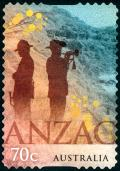 Colnect-2804-655-Two-ANZACs-at-the-Ridge.jpg