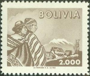 Colnect-1558-937-Indians-and-Mt-Illimani.jpg