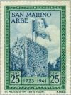 Colnect-168-020-Flags-of-San-Marino-and-Italy-on-Arbe-tower.jpg