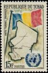 Colnect-894-191-Map-of-Chad-national-flag--amp--UNO-logo.jpg