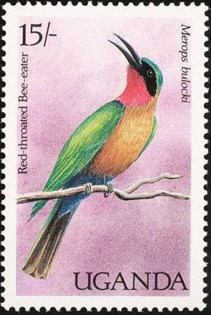 Colnect-1712-378-Red-throated-Bee-eater-Meropiscus-bullocki.jpg