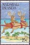 Colnect-3100-573-Reindeer-and-palm-trees.jpg