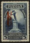 Colnect-3649-335-Urraca-Indian-monument--overprint.jpg