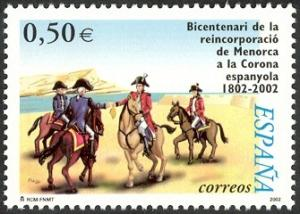 Colnect-595-604-Bicentenary-of-the-Reincorporation-of-Minorca-to-Spain.jpg