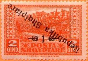 Colnect-3901-597-Albanian-Repulic-inverted-overprint.jpg