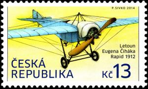Colnect-3781-880-Eugen-%C4%8Cih-aacute-k-rsquo-s-airplane-Rapid-1912.jpg
