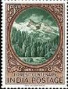 Colnect-470-534-Centenary-of-Scientific-Forestry---Forest-and-Himalayas.jpg