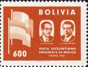Colnect-2540-729-Presidents-HSiles-Zuazo-and-ALopez-Mateos.jpg