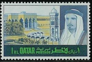 Colnect-2179-583-The-Emir-of-Qatar-and-Palace.jpg