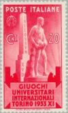 Colnect-167-388-Mussolini-and-the-Stele-Statue.jpg