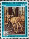 Colnect-4965-021-Deer-calf-in-the-burnt-forest.jpg