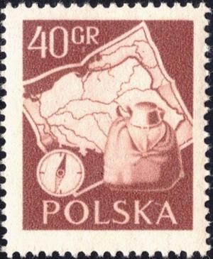 Colnect-4279-959-Compass-and-backpack-map-of-Poland.jpg