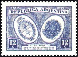 Colnect-3261-645-Centennial-peace-with-Brazil.jpg