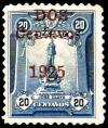 Colnect-1770-529-Jose-Olaya---Monument-overprint-2c-on-20c-blue.jpg