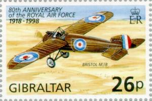 Colnect-120-896-80th-Anniversary-of-the-Royal-Air-Force-1918-1988.jpg
