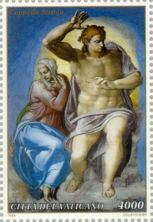 Colnect-151-665-Restoration-of-the-Sistine-Chapel.jpg