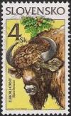 Colnect-713-932-Animals-European-Bison-Bison-bonasus.jpg