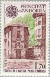 Colnect-141-959-First-french-postoffice-in-Andorra-la-Vella.jpg