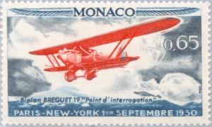 Colnect-147-965-Plane--quot-Breguet-19-quot--over-the-northern-Atlantic-Ocean.jpg
