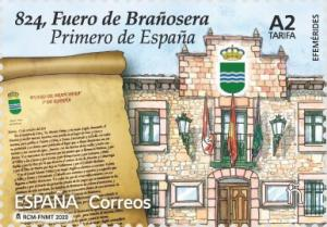 Colnect-6359-556-The-Town-Charter-of-Bra%C3%B1osera-First-Town-Charter-in-Spain.jpg