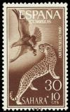 Colnect-1397-781-Leopard-Panthera-pardus-Golden-Eagle-Aquila-chrysaetus.jpg