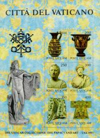 Colnect-151-307-Apollo-Belvedere-and-the-papal-coat-of-arms.jpg