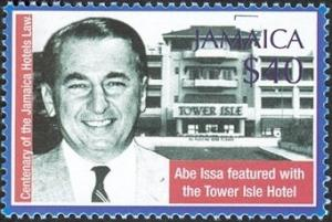 Colnect-1615-326-Abe-Issa-featured-with-the-Tower-Isle-Hotel.jpg