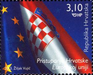 Colnect-6335-319-Flags-of-Croatia-and-European-Union.jpg