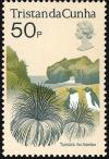 Colnect-1967-026-Tussock-and-penguins.jpg