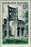 Colnect-143-883-Jumieges-abbey-13th-centenary.jpg