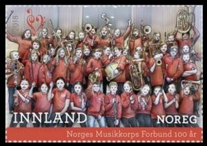 Colnect-4894-771-Centenary-of-the-Norwegian-Band-Federation.jpg