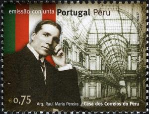 Colnect-579-446-Joint-Issue-with-Peru---Raul-Maria-Pereira.jpg